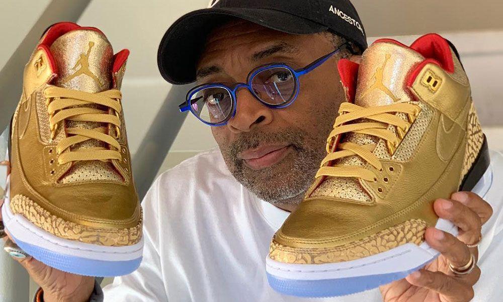 883bac9a7ff Spike Lee Will Wear Golden Air Jordan 3