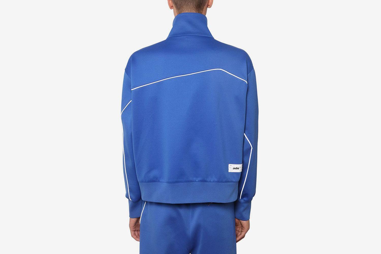 Zip-Up Nylon Track jacket