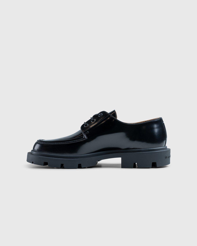 Maison Margiela – Cleated Sole Shoes Black - Image 7
