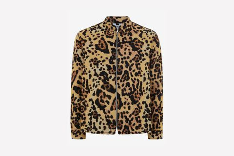 Leopard Print Overshirt