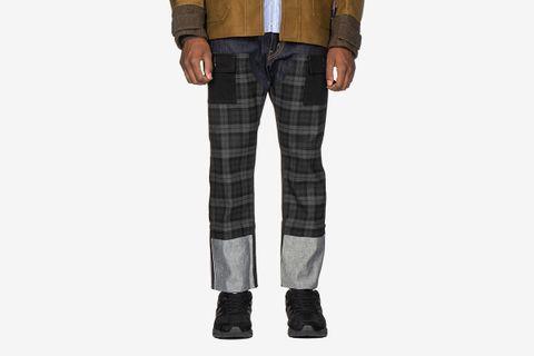 Rayon Check Pant