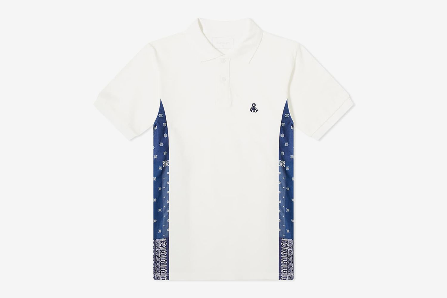 Bandana Side Panelled Polo