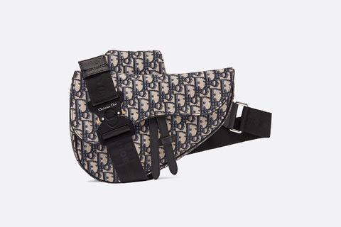 Oblique Saddle Bag