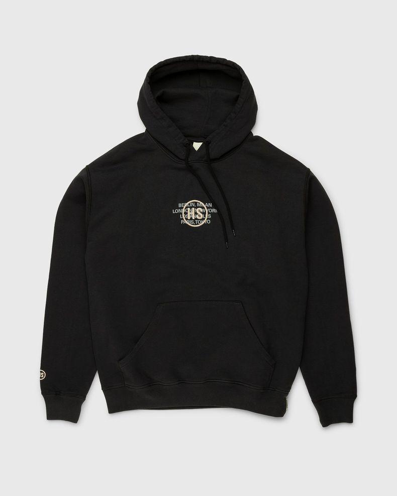 Highsnobiety – Logo Hoodie Black