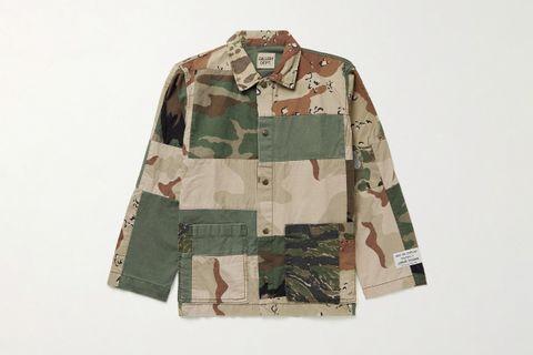 Patchwork Chore Jacket