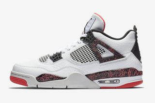 competitive price 0bce8 7e1ff Jordan Brand Adds Bright Crimson Accents to the Air Jordan 4