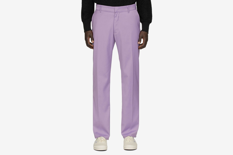 Purple D8 Dress Trousers