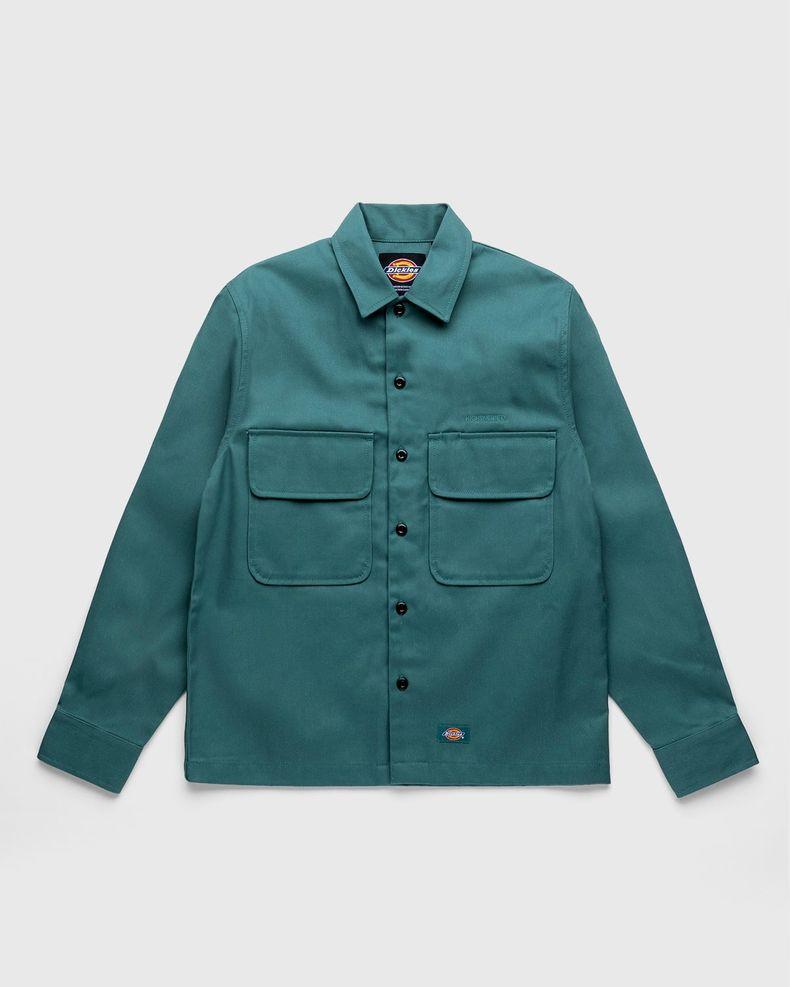 Highsnobiety x Dickies – Service Shirt Lincoln Green