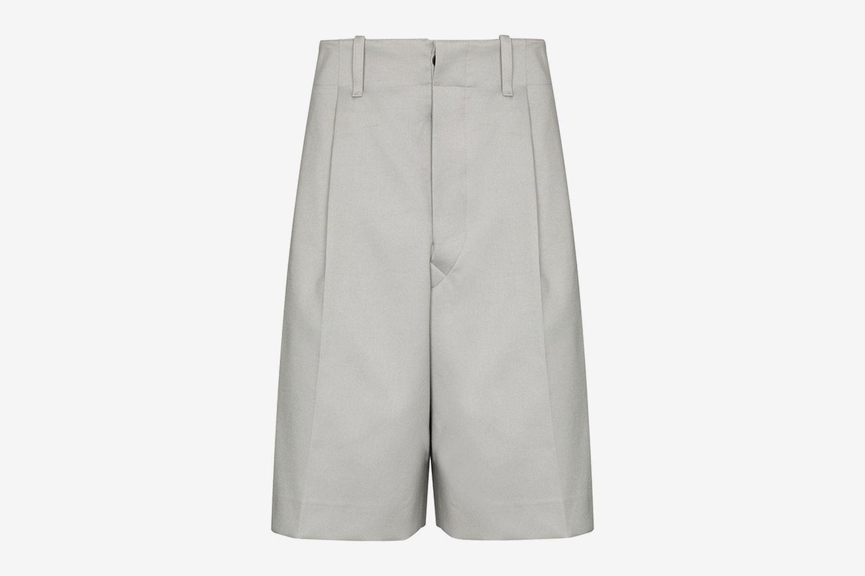 Tailored Wide-Leg Shorts