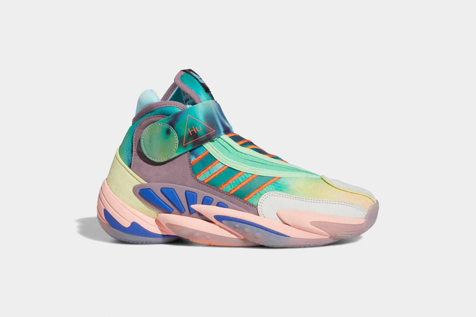 Pharrell Williams x Adidas 2020 0 to 60 Basketball Sneaker
