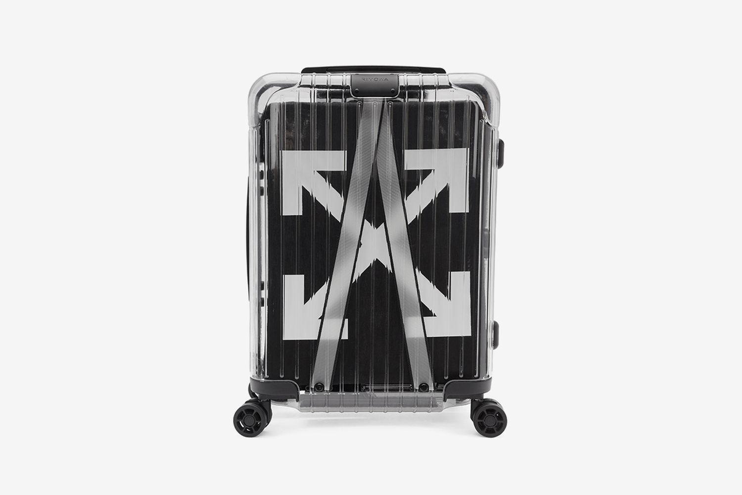 'See-Through' Carry-On Suitcase