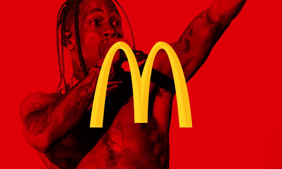 Travis Scott Makes His Mcdonald S Collab Official