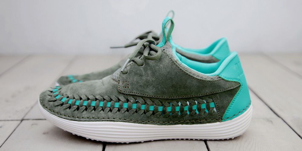 online store 697d8 ee019 Nike Solarsoft Moccasin Premium Woven Sneakers 2013 Summer - Highsnobiety