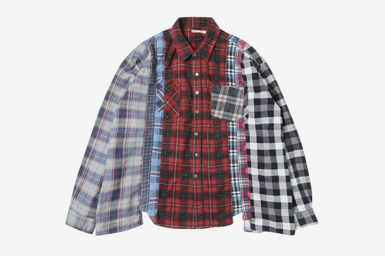 Flannel Shirt Wide 7 Cuts