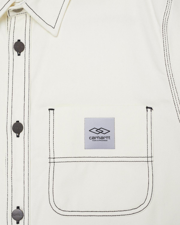Carhartt WIP x Ljubav —  Chalk Shirt Jac Wax - Image 3