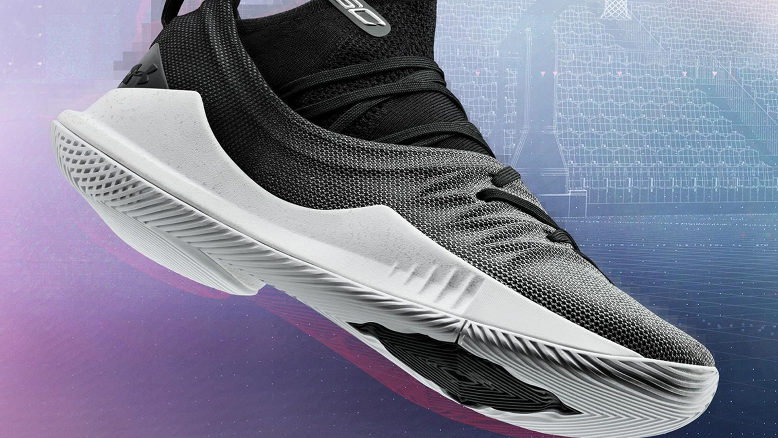 under armour curry 5 black white release date price Stephen Curry