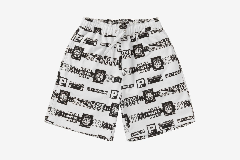 Mix Tape Shorts