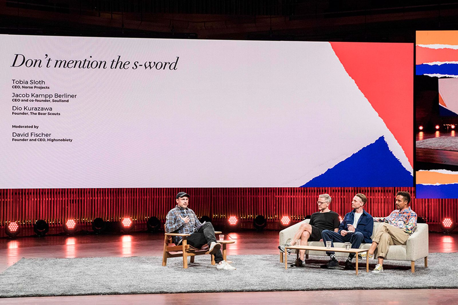 cfs 18 Copenhagen Fashion Summit clean clothes norse projects