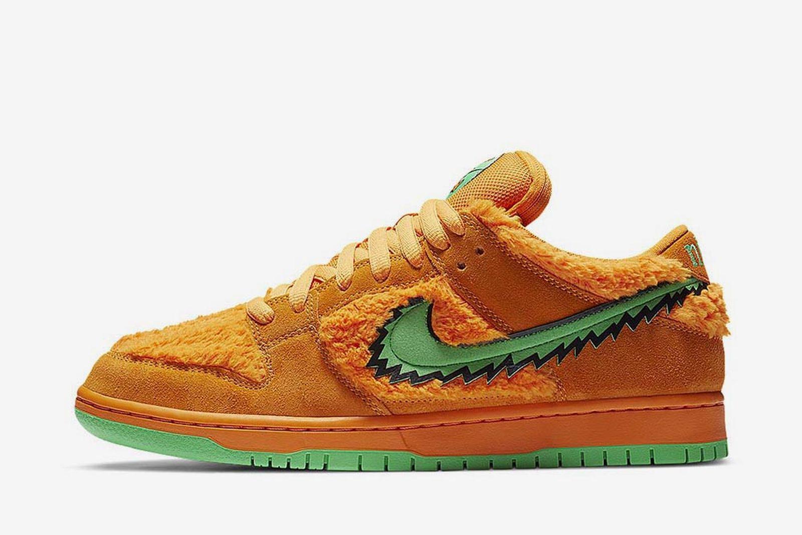 Grateful Dead x Nike SB Dunk Low orange