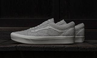 "Blends & Vans Reissue the ""Bones"" Old Skool in Fuzzy Suede"