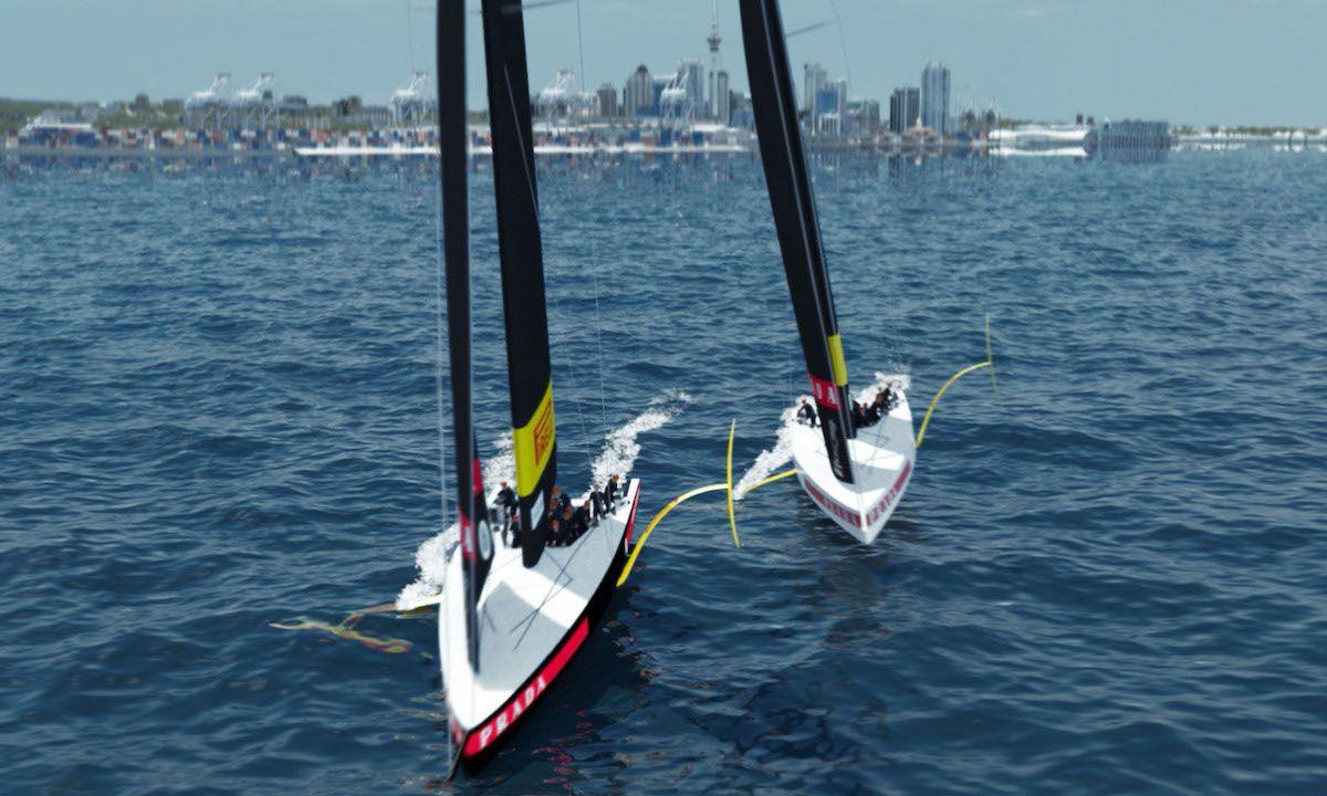 Prada Luna Rossa Unveils New Sailboat for America's Cup