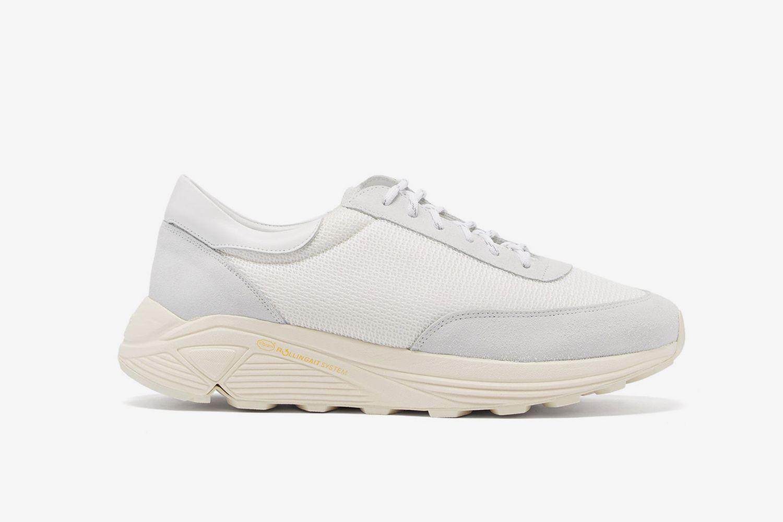Mono Leather Sneakers
