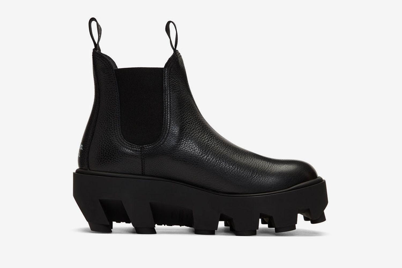 Therapist Slip-On Chelsea Boots