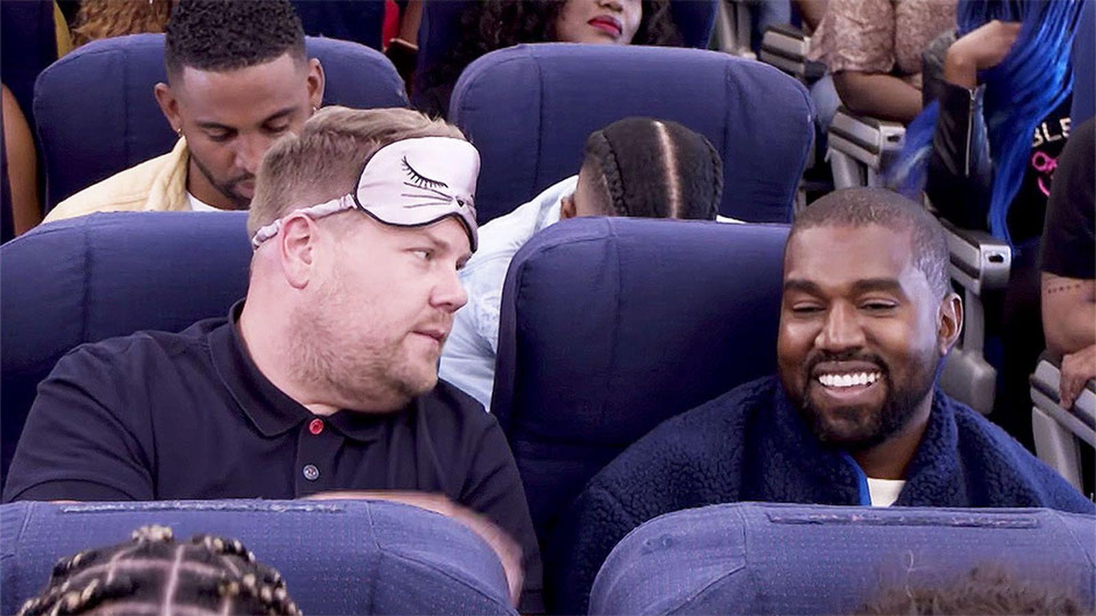 Kanye West James Corden Airpool Karaoke