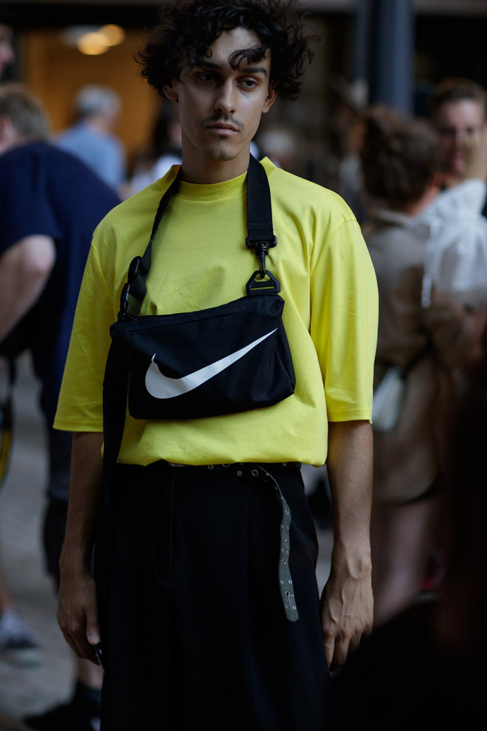 copenhagen street style bags1 Copenhagen Fashion Week Nike Supreme