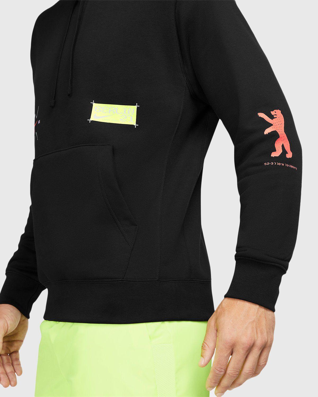 Nike x Highsnobiety – Berlin Club Fleece Hoodie Black  - Image 5