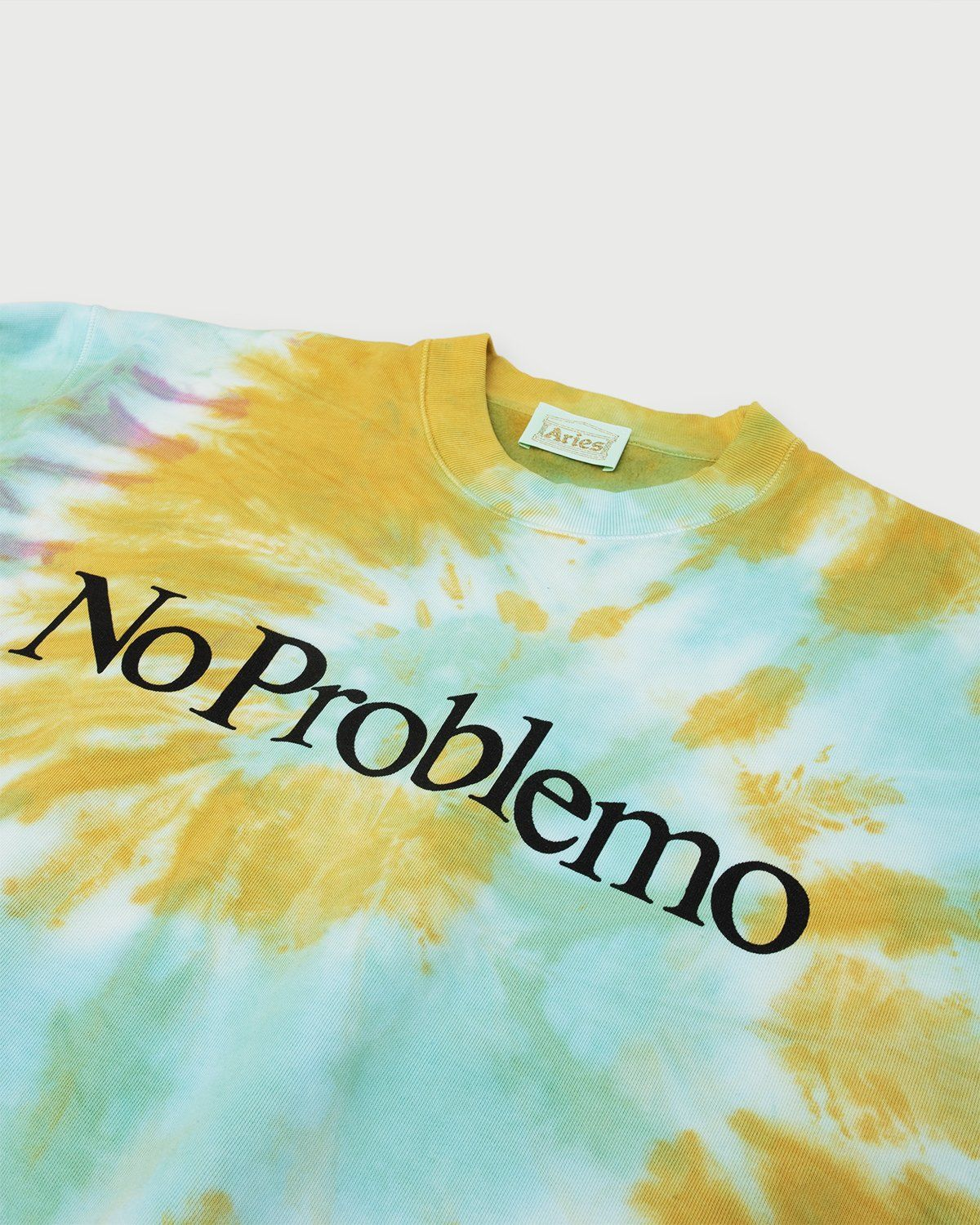 Aries - No Problemo Tie Dye Sweatshirt Multicolor - Image 2