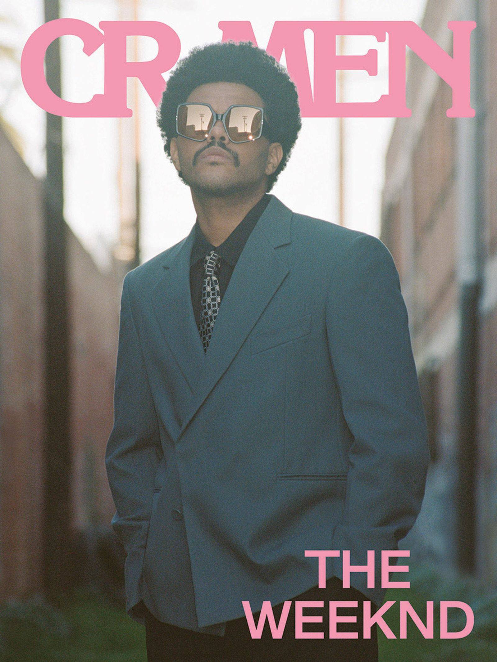 The Weeknd CR Men cover