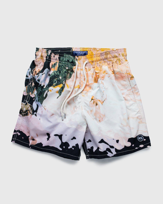 Vilebrequin x Highsnobiety — Pattern Shorts Beige - Image 1