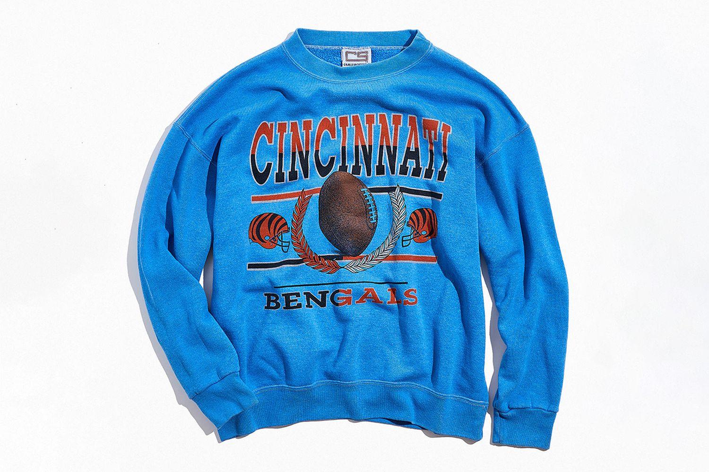 Overdyed Collegiate Crew Neck Sweatshirt
