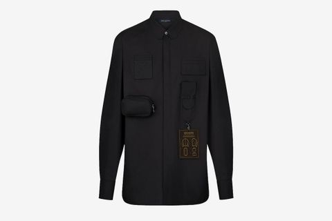 Multi Pockets Utility Shirt