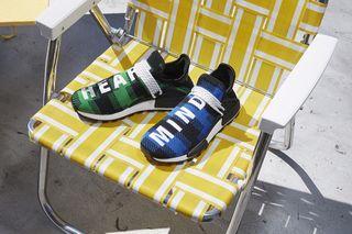 Billionaire Boys Club adidas NMD Hu Heart Mind Blue Plaid