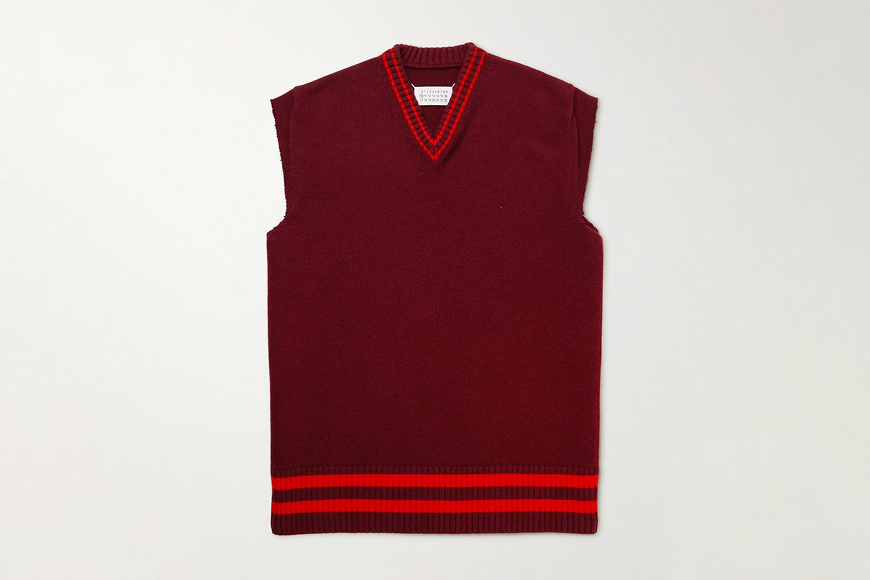 Striped Sweater Vest