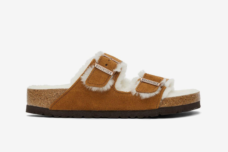 Arizona Fur Sandals