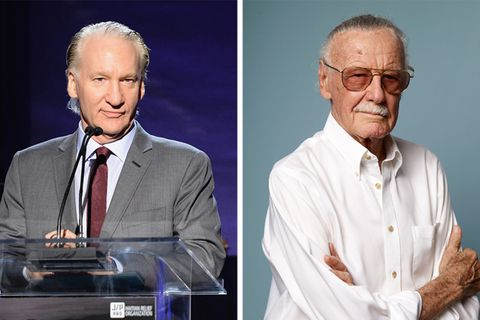 bill maher stan lee comics elected donald trump