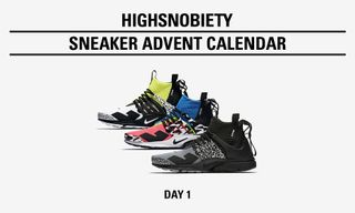 Highsnobiety Sneaker Advent Calendar: ACRONYM x Nike Air Presto Pack