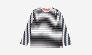 This nanamica x Goodhood Long-Sleeve Is the Perfect Spring Layering Piece