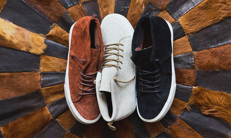 7b7daedeca Vans to Debut Sk8-Mid Moc in Time for the Holidays