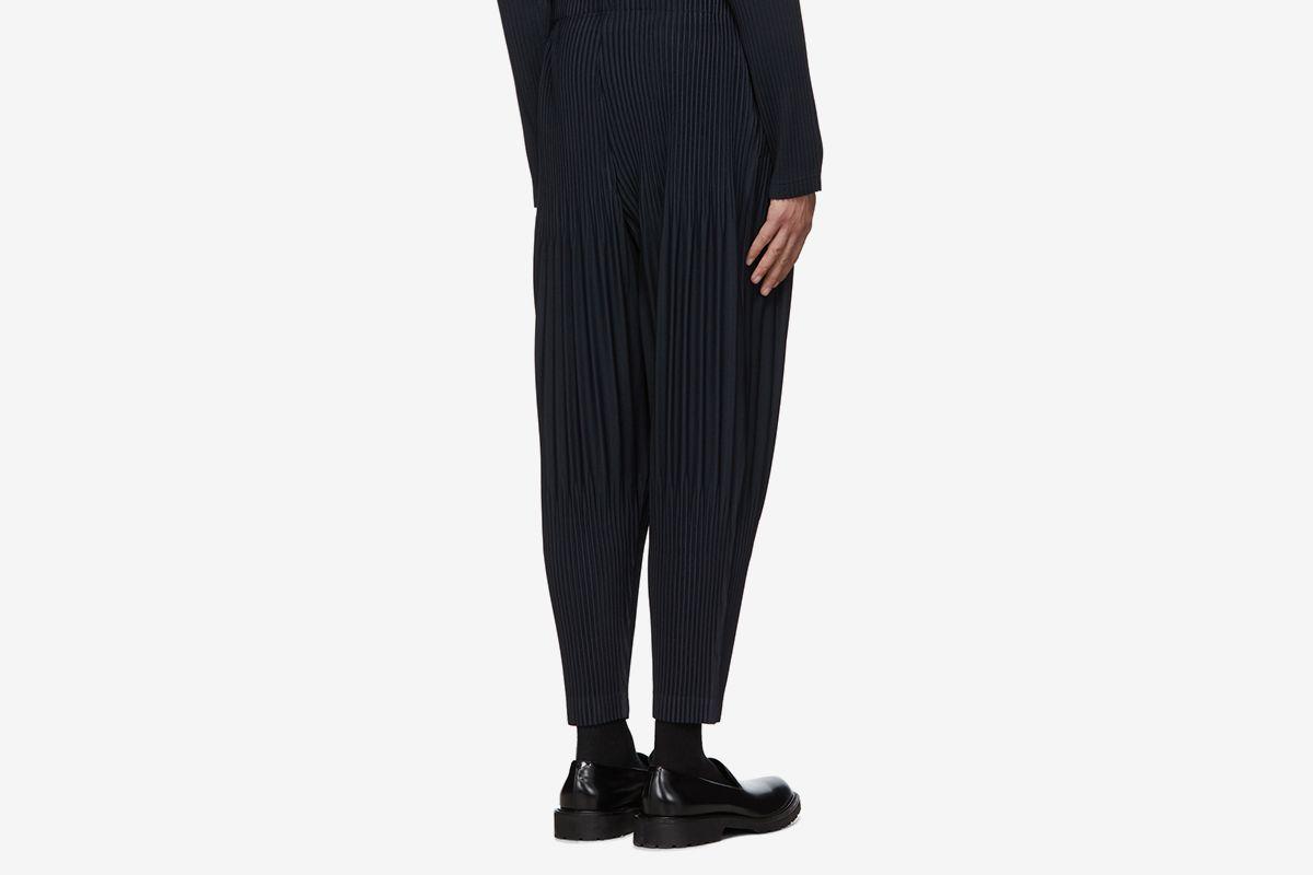 Pleated Basics Trousers