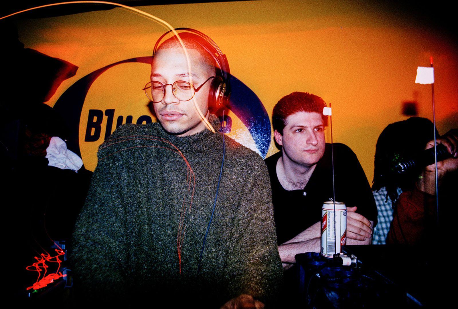 LTJ Bukem and Peshay at Metalheadz Sunday Sessions, 1996