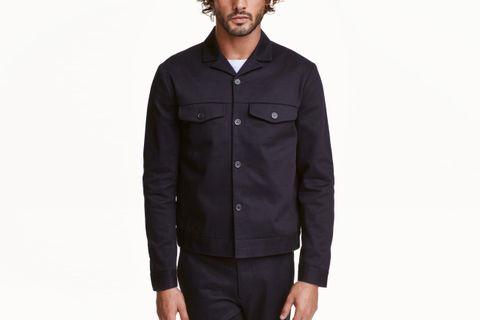 7d0030b5e H&M Cotton Twill Shirt Jacket