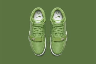 outlet store ecf8b a79ab NikeLab   fragment design Paint the NikeCourt Air Trainer 1 Mid Green for  Wimbledon. By Sophie Falcon in Sneakers  Jun 29, 2015  0 Comments. 7 more