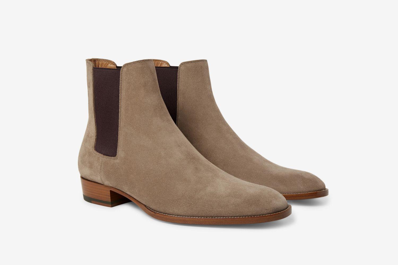 Wyatt Suede Chelsea Boots