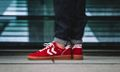 HUMMEL HIVE Drop A Buttery Red Low-Top for Spring