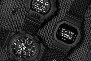 Casio Drops Super Slick G Shock Black Out Collection