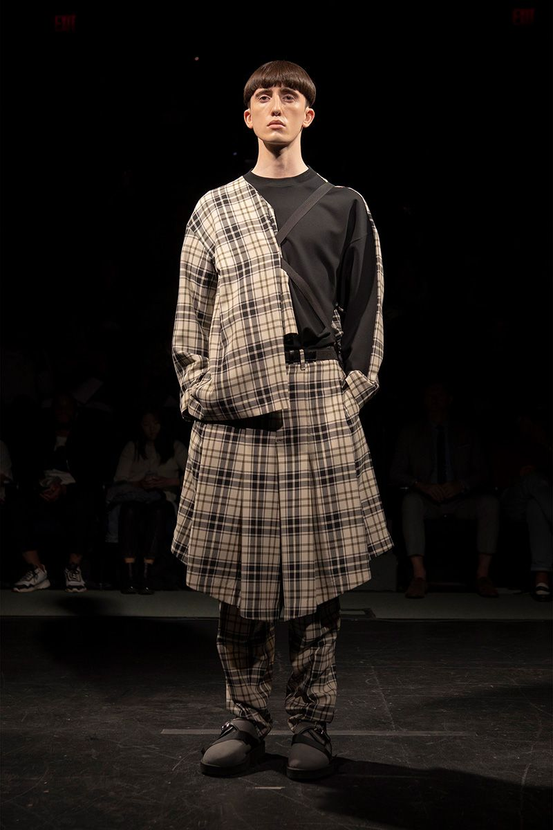N.Hoolywood Reworks the Best of British Fashion for Spring 2020